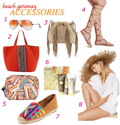 Beach Getaway Accessories