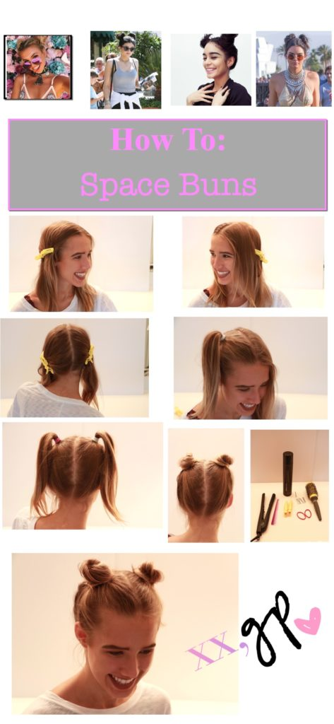 how to space bun